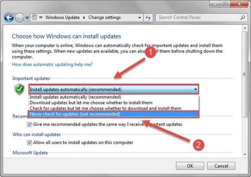 windows update la gi cach tat windows update, cach vo hieu hoa windows update, tat windows update