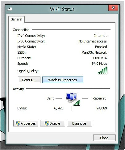 see wifi pass win 7
