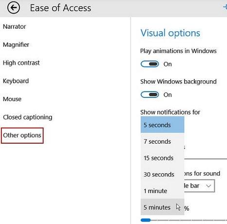 Tắt thông báo trên khay hệ thống Windows 10 2