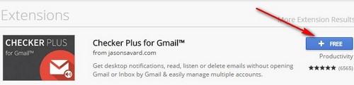 Cách kiểm tra thư mới, mail mới trên Gmail không cần đăng nhập Gmail trên Chrome, Cốc Cốc