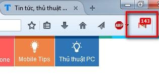 Cách kiểm tra thư mới, mail mới trên Gmail không cần đăng nhập Gmail trên Firefox