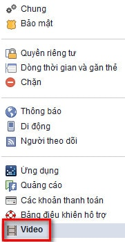 cai dat chat luong video facebook
