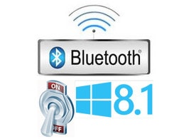 Bật, tắt Bluetooth trên Windows 8.1