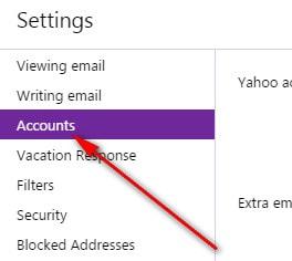 Cách đổi tên hiển thị trên Yahoo