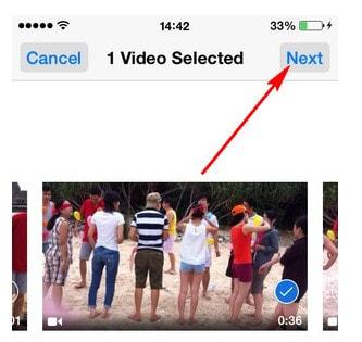 Upload Video lên YouTube trên iPhone