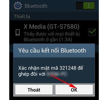 Hướng dẫn kết nối điện thoại với máy tính qua Bluetooth 6