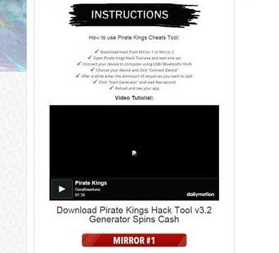 hack pirate kings la lua dao