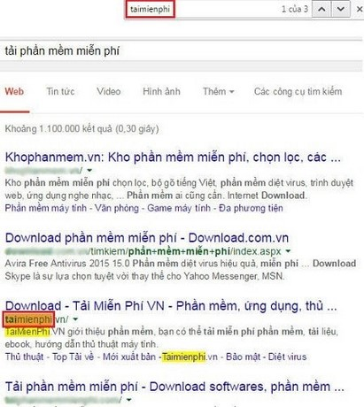 Cách kiểm tra thứ hạng từ khóa bằng Google.com.vn