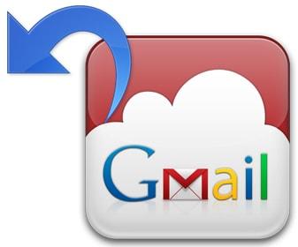 lay lai email da gui trong gmail