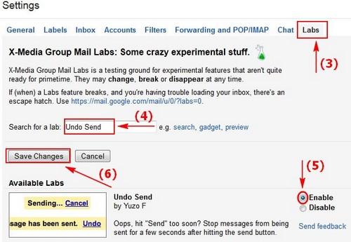 Lấy lại Email đã gửi trong Gmail, hủy email đã gửi gmail