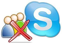 xoa nick skype