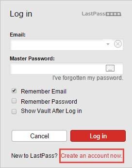 Bảo vệ mật khẩu bằng LastPass duyệt web trên Chrome