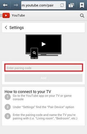 Điều khiển Youtube trên máy tính bằng Smartphone