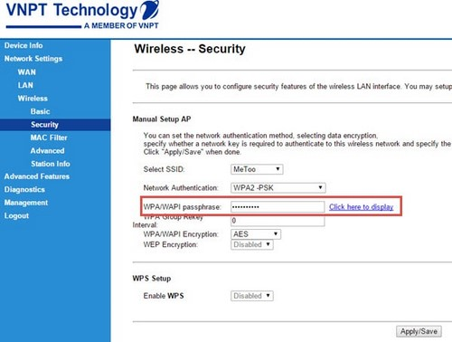 Đổi pass wifi iGate, đổi mật khẩu wifi iGate VNPT
