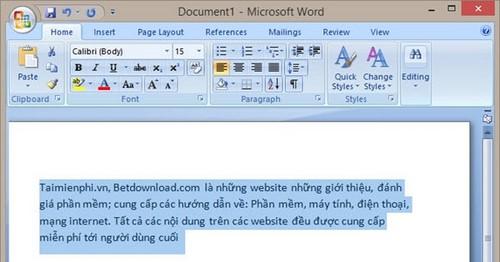 doi phong chu trong word 2013 2010 2007 2003