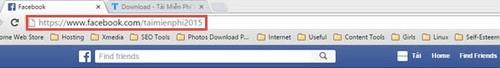Cách lấy ID Facebook mới, thay địa chỉ Facebook