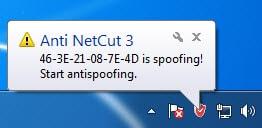 Cách chống cắt mạng bằng Netcut 4