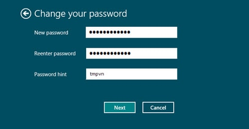 password hint la gi win 8 7