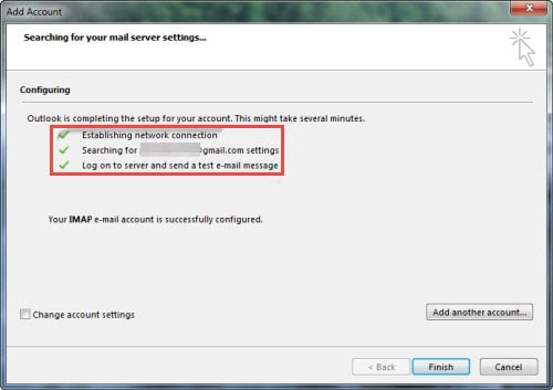 Cách quản lý Yahoo Mail, Gmail, Hotmail bằng Outlook 2013
