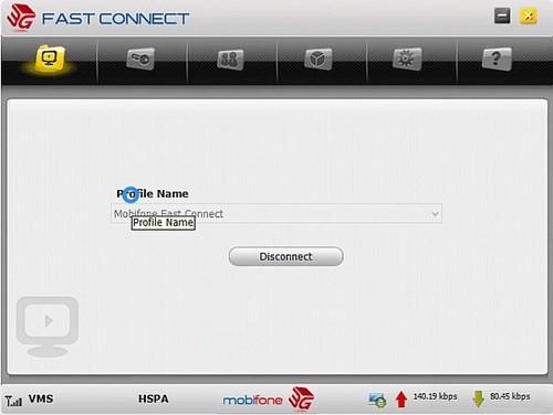 Sửa lỗi Fast connect 3G Mobifone không kết nối được