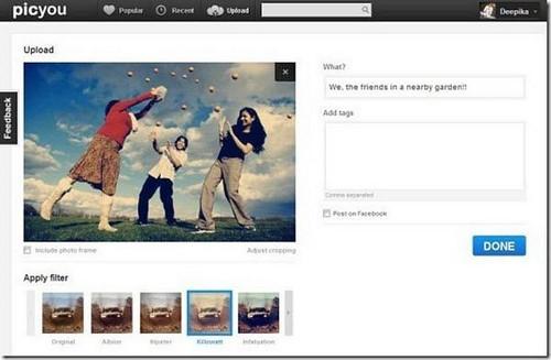 Tạo hiệu ứng cực đẹp như chụp hình với Instagram