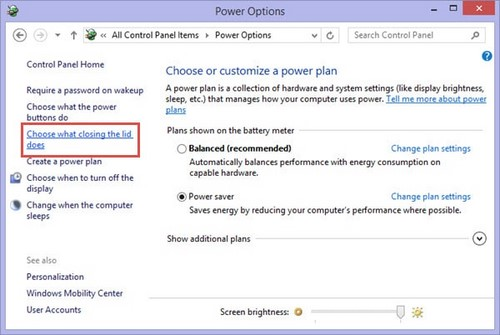 how to turn off laptop screen without closing lid