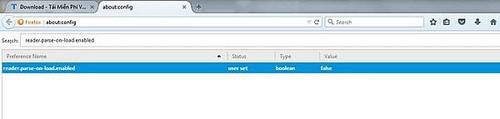 Xóa, gở bỏ Pocket và Reader View trên Firefox 38.0.5