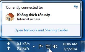 doi ten network connection trong windows