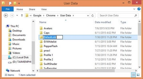 Mẹo sửa Google Chrome bị lỗi crash