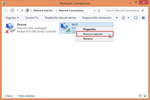 loi windows was unable to connect to this network