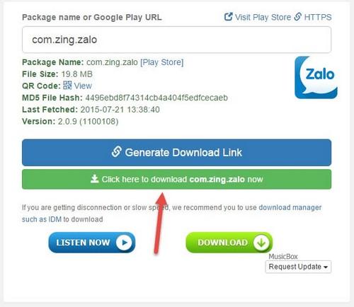 Cách tải file APK trực tiếp từ Google Play Store trên máy tính