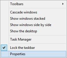 thay doi vi tri thanh taskbar tren windows