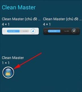 tinh nang tang toc mot cham clean master android