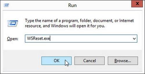 sua loi Windows Store