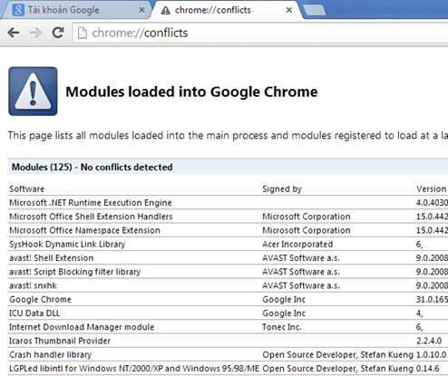 Sửa lỗi Flash Player dừng đột ngột trên Google Chrome và CocCoc, lỗi Flash Player Crash