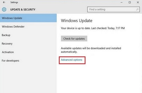 Disable Windows Update Delivery Optimization on Windows 10