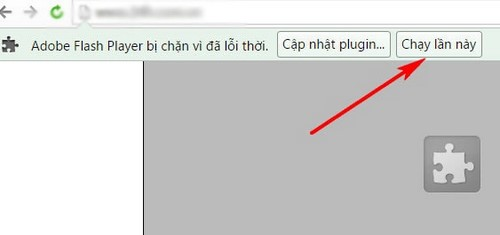 adobe flash player bi chan vi da loi thoi tren coccoc