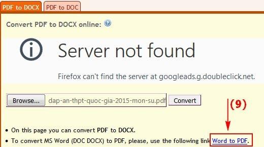 Chuyển PDF dạng ảnh sang Word, text không bị lỗi Font chữ 3