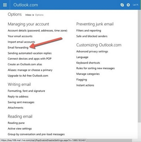 Cách chuyển email từ Outlook, Hotmail sang Gmail