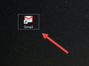Cách đưa biểu tượng Gmail ra desktop, màn hình máy tính