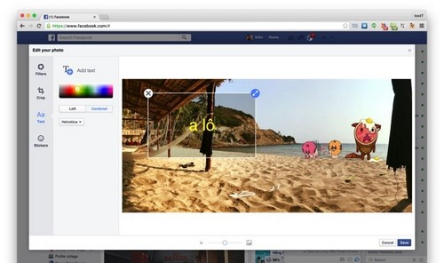 Chỉnh sửa ảnh facebook, edit ảnh trực tiếp trên Facebook (Cập nhật mới nhất)