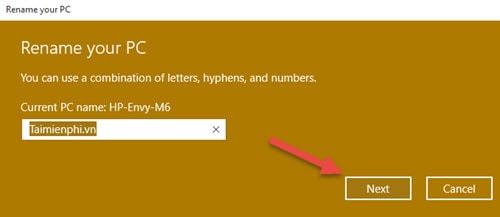 Đổi tên máy tính Windows 10, thay PC Name trên Windows 10 3