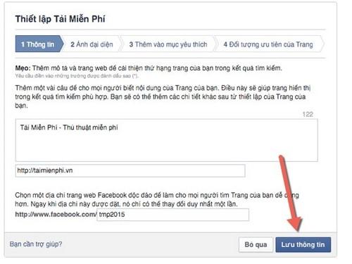 create facebook fanpage, lap facebook fanpage, lap page facebook