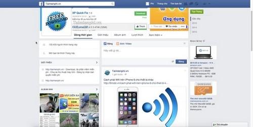 I download facebook fanpage