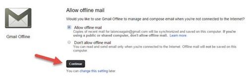 xem in quan ly gmail offline, xem gmail offline, quan ly email offline