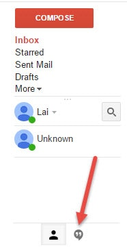 Xem lại lịch sử chat trên Gmail