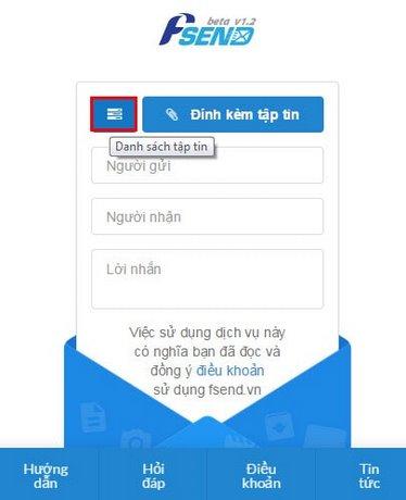 Fsend Cách gửi và nhận hàng GB dữ liệu qua mail cực nhanh