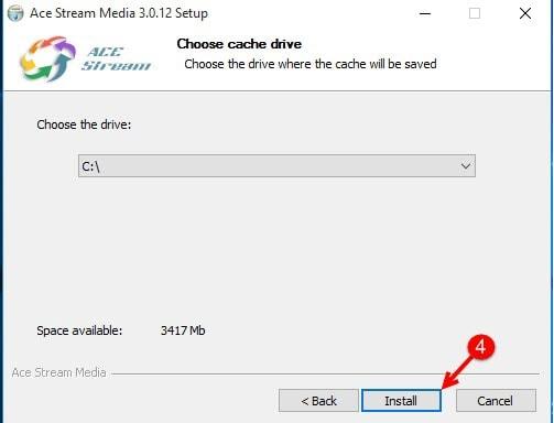 Cài Ace Stream Media trên Windows 10, Setup Ace Stream Media xem bóng đá trên Windows 10 2