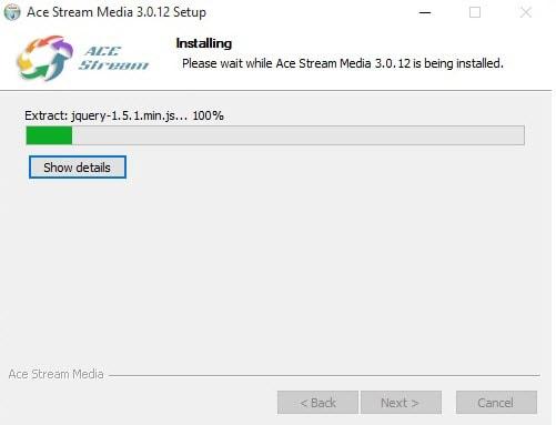 Cài Ace Stream Media trên Windows 10, Setup Ace Stream Media xem bóng đá trên Windows 10 3
