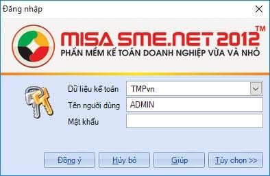 Cách dùng misa, sử dụng phần mềm kế toán MISA
